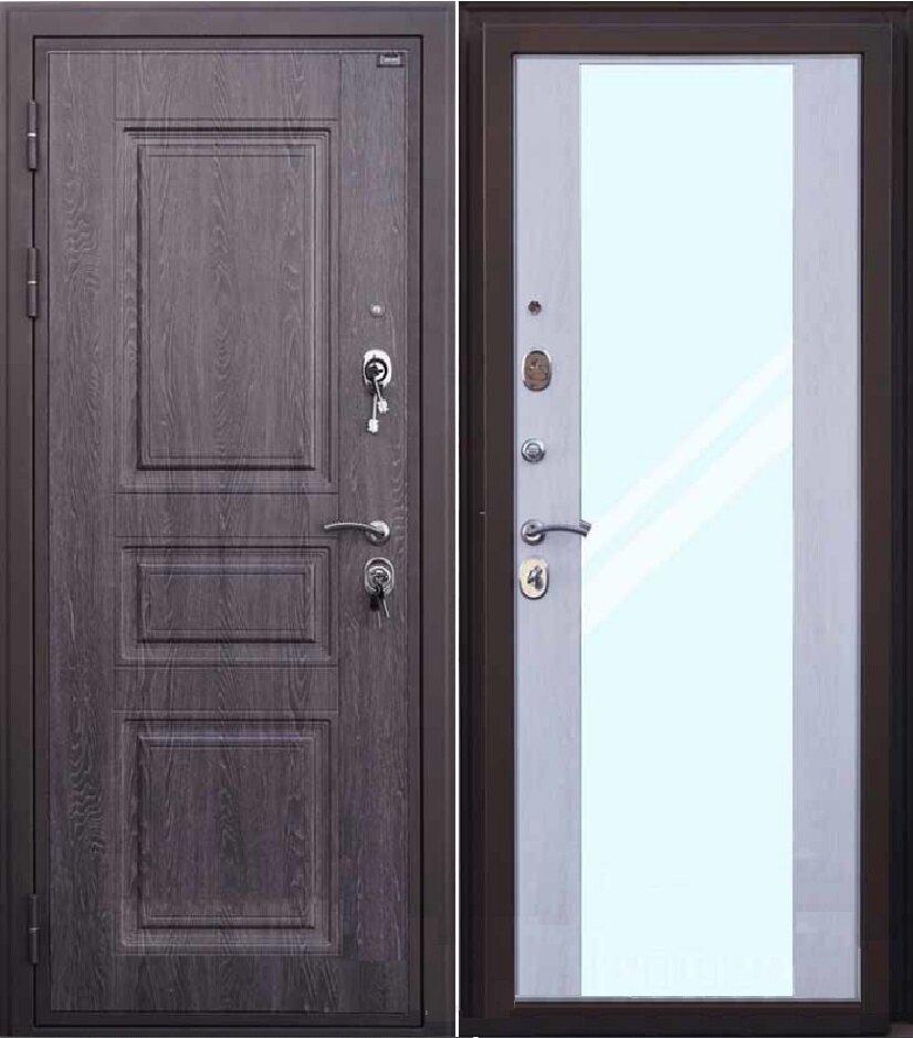Дверь входная Филадельфия зеркало