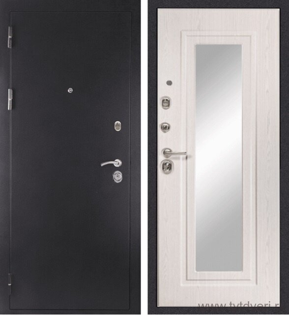 Дверь входная МД-26 Зеркало
