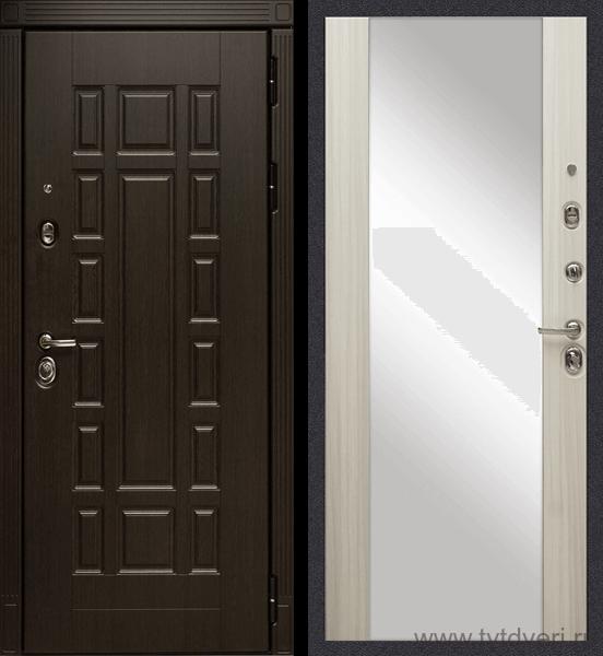 Дверь входная МД-38 Зеркало