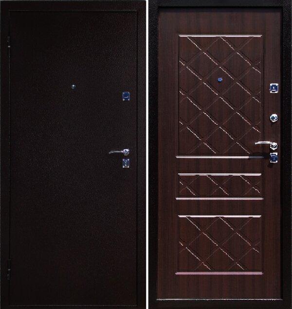 Дверь входная Эко-венге