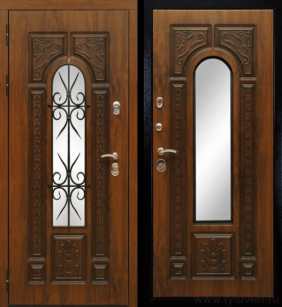 Дверь входная Рим (ковка)