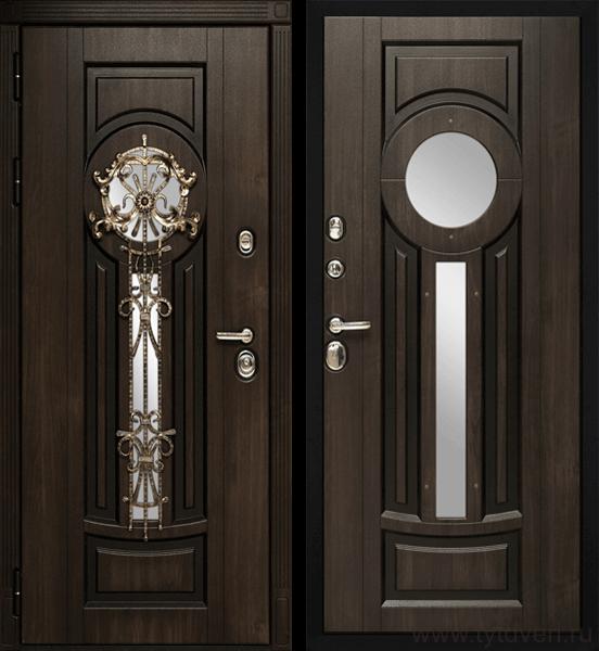 Дверь входная Византия (винорит)