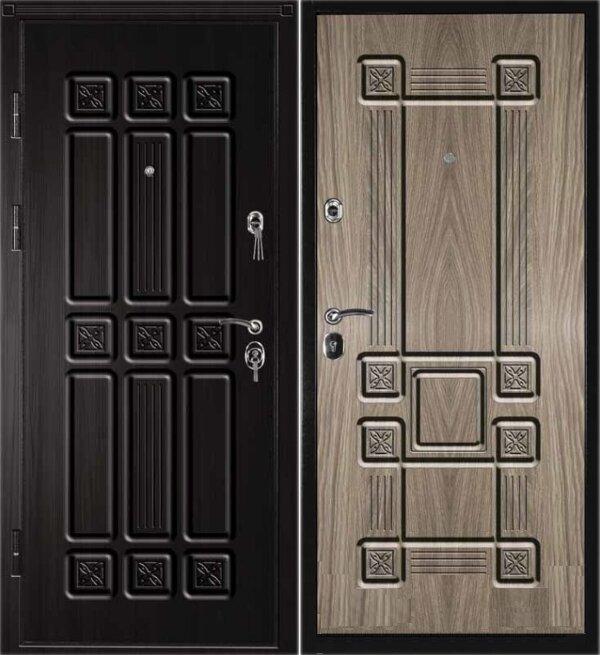 Дверь входная Сенатор - S белёный дуб