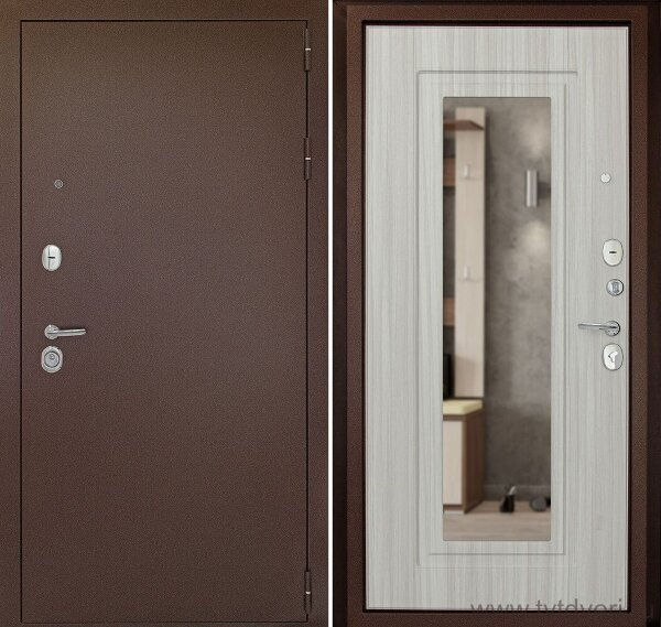 Дверь входная Гарант-1 Зеркало