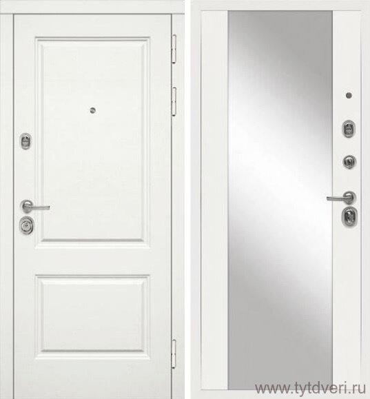 Дверь входная МД-44 зеркало