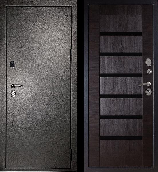 Дверь входная МД-05 Серебро