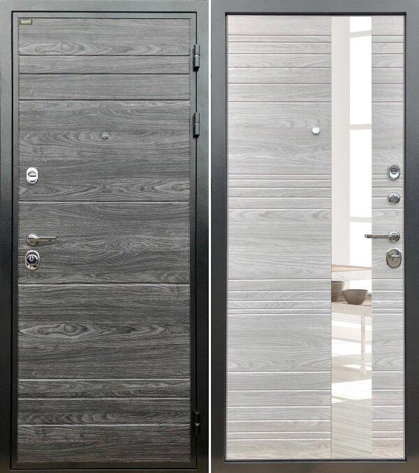 Дверь входная Палермо (зеркало)