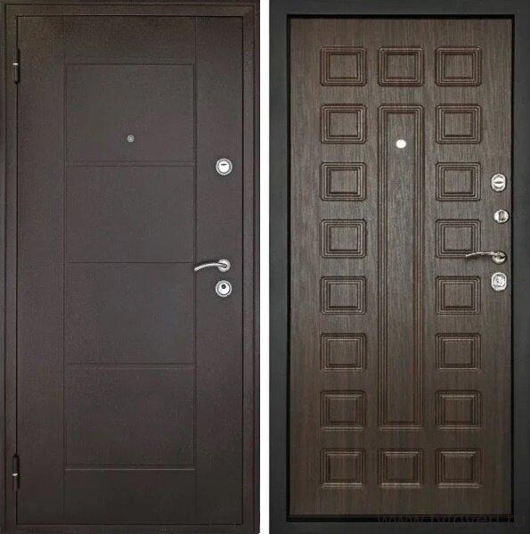 Дверь входная Квадро венге